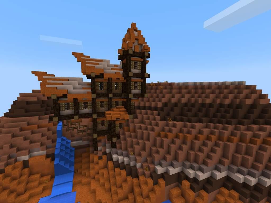 Mesa Hillside Home  Minecraft Amino