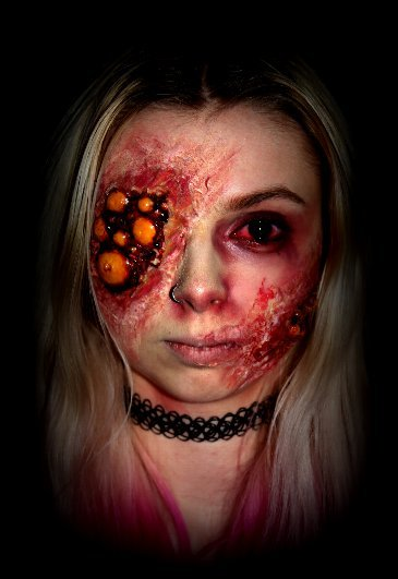 Infected Sfx Makeup Special Effects Makeup Amino