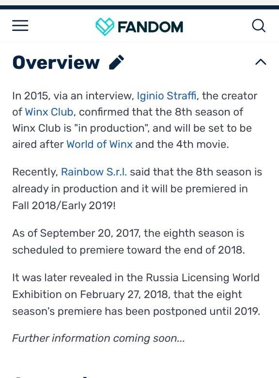 Are you kidding me? Season 8 better be amazing | Winx Club Amino