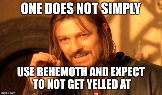 Behemoth Meme Compliation Unison League Amino