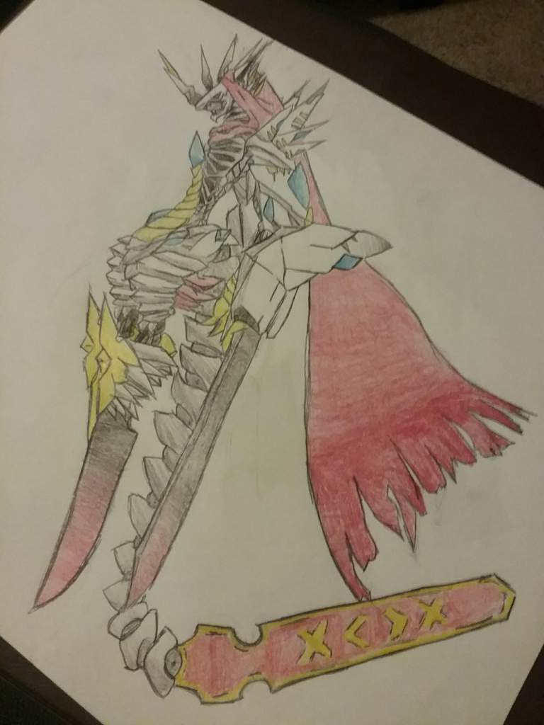 Xmedaddy Jesmon X Antibody Digimon Amino Sword wing, kyuukyoku senjin seibakennote ultimate battle blade seibaken. xmedaddy jesmon x antibody digimon