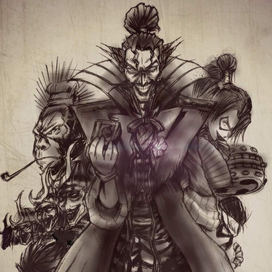 Joker From Batman Ninja Comics Amino