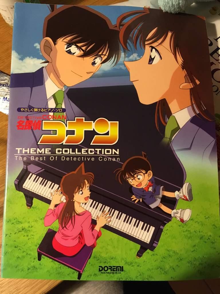 detective conan opening theme music sheets | detective conan & magic