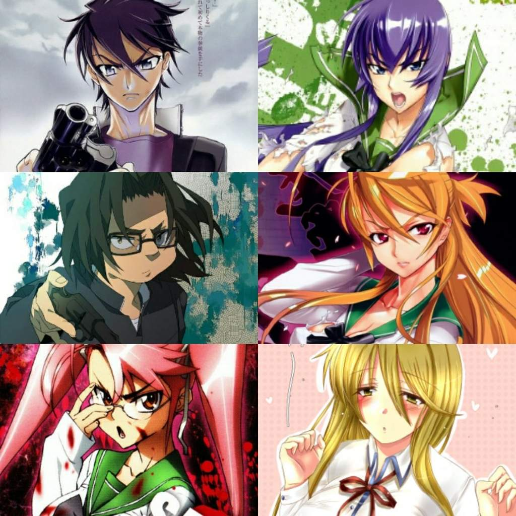 Highschool of the dead pornos