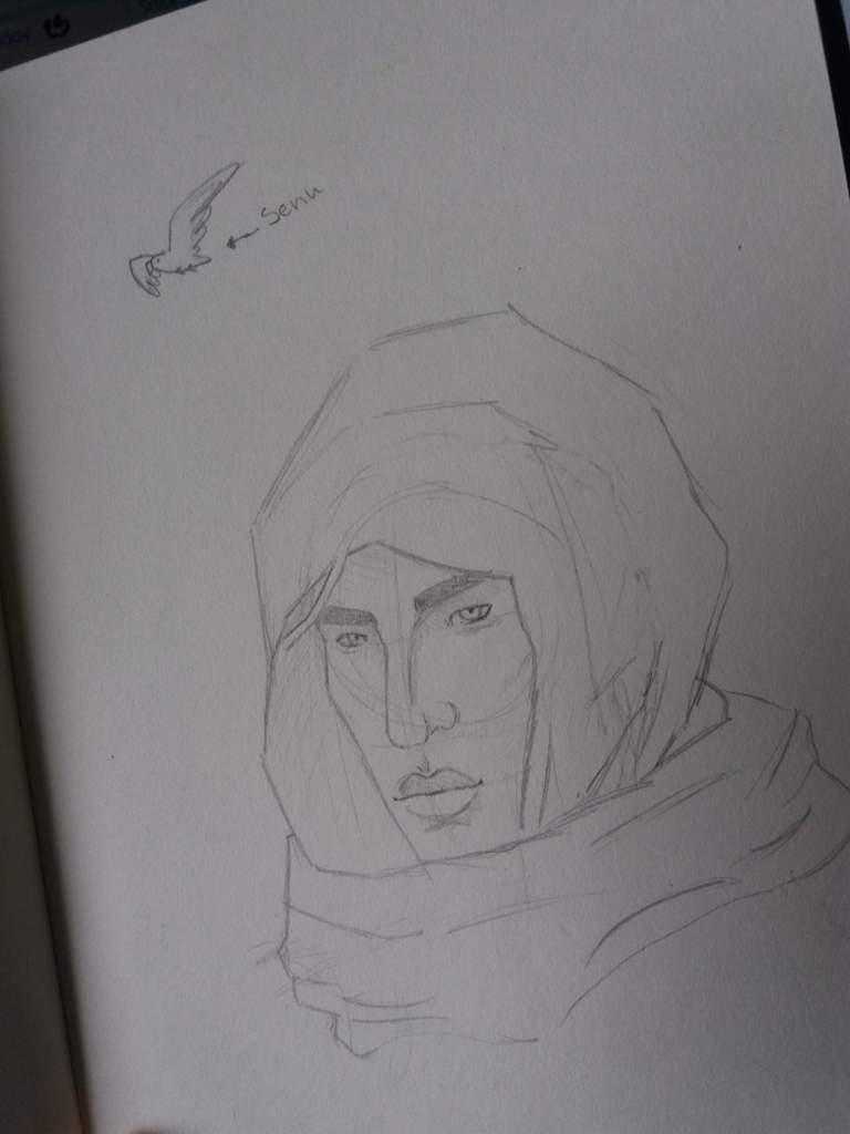 Messy Bayek Drawing Assassins Creed Amino