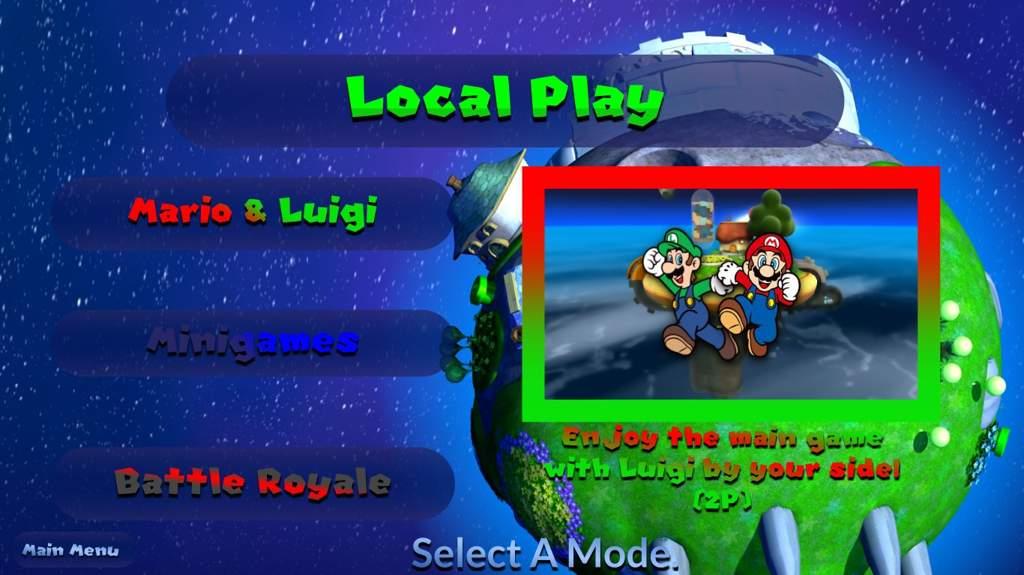 Super Mario Galaxy 3 Game Ideas and Menu Concepts! #2