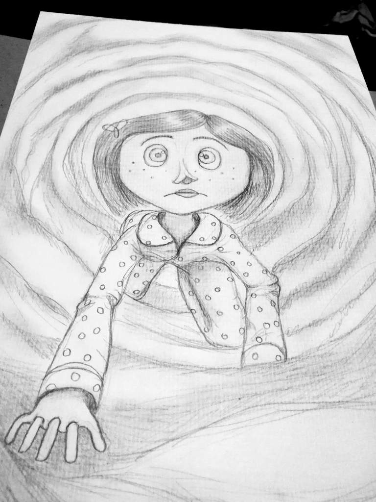 Coraline Drawings Button Eyes