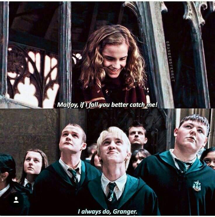ผลการค้นหารูปภาพสำหรับ Draco Hermione