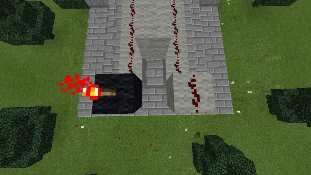 Como hacer un cañón de Tnt regulable   Tutorial   Minecraft Amino ...