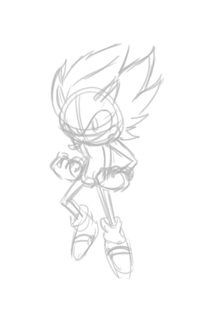 Cenário Desenhos Do Super Sonic - Desenhos Para Pintar e ...