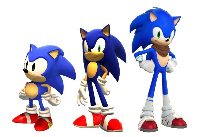 Differences Between The Main Cast And The Boom Cast Sonic The Hedgehog Amino