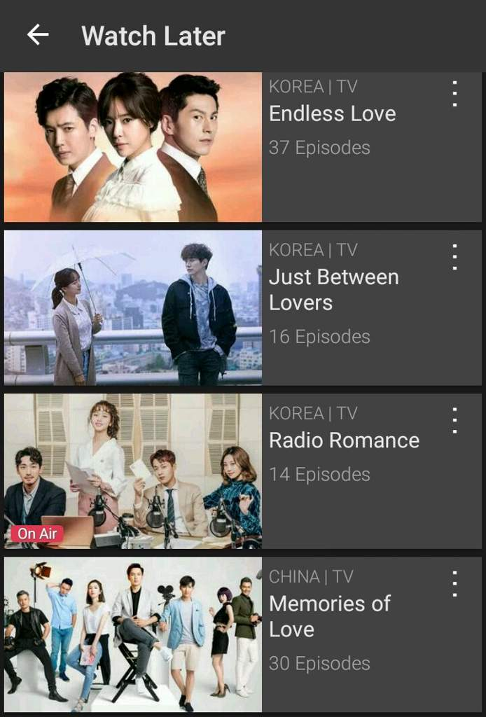 Viki watch later list   K-Drama Amino