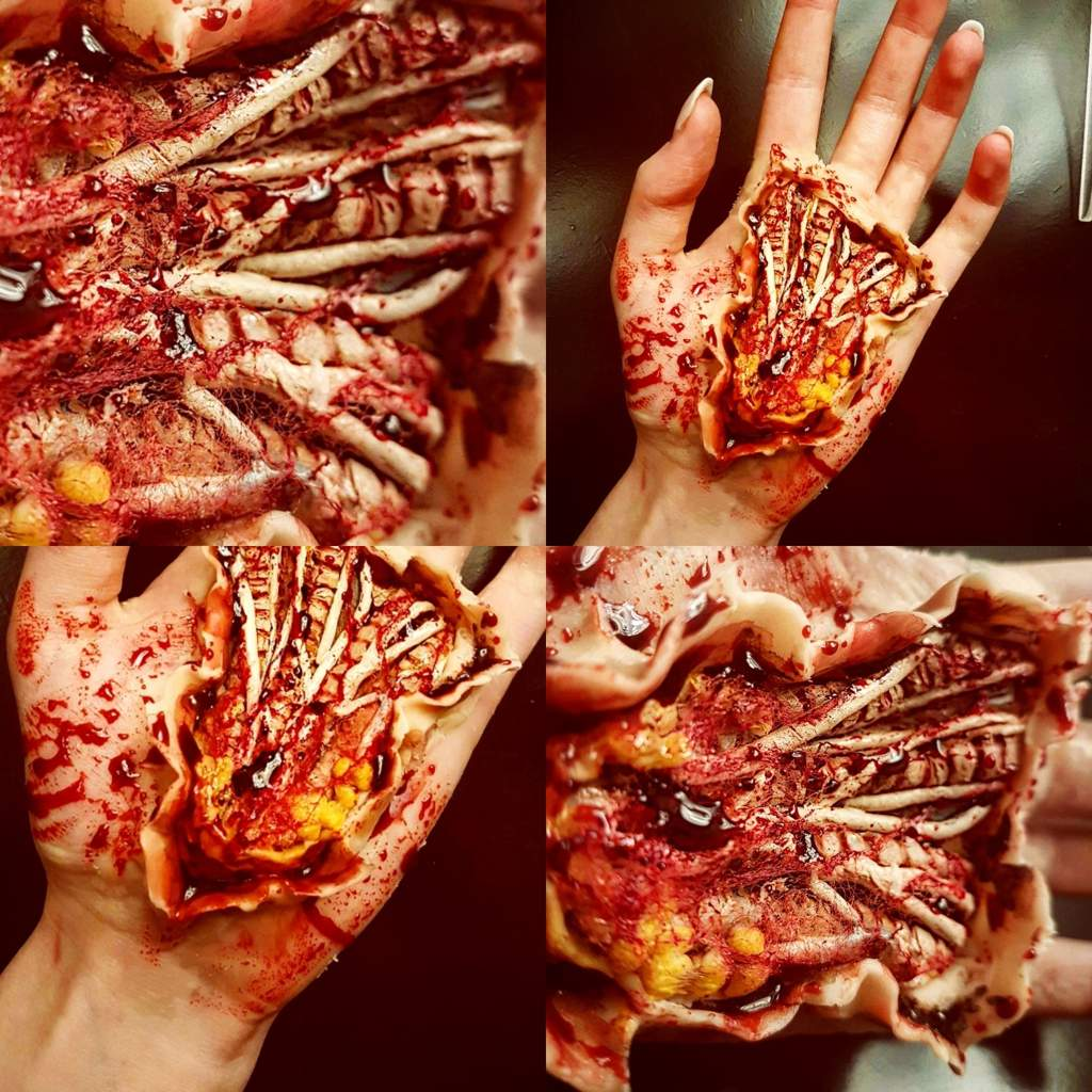 Hand Tendons Special Effects Makeup Amino