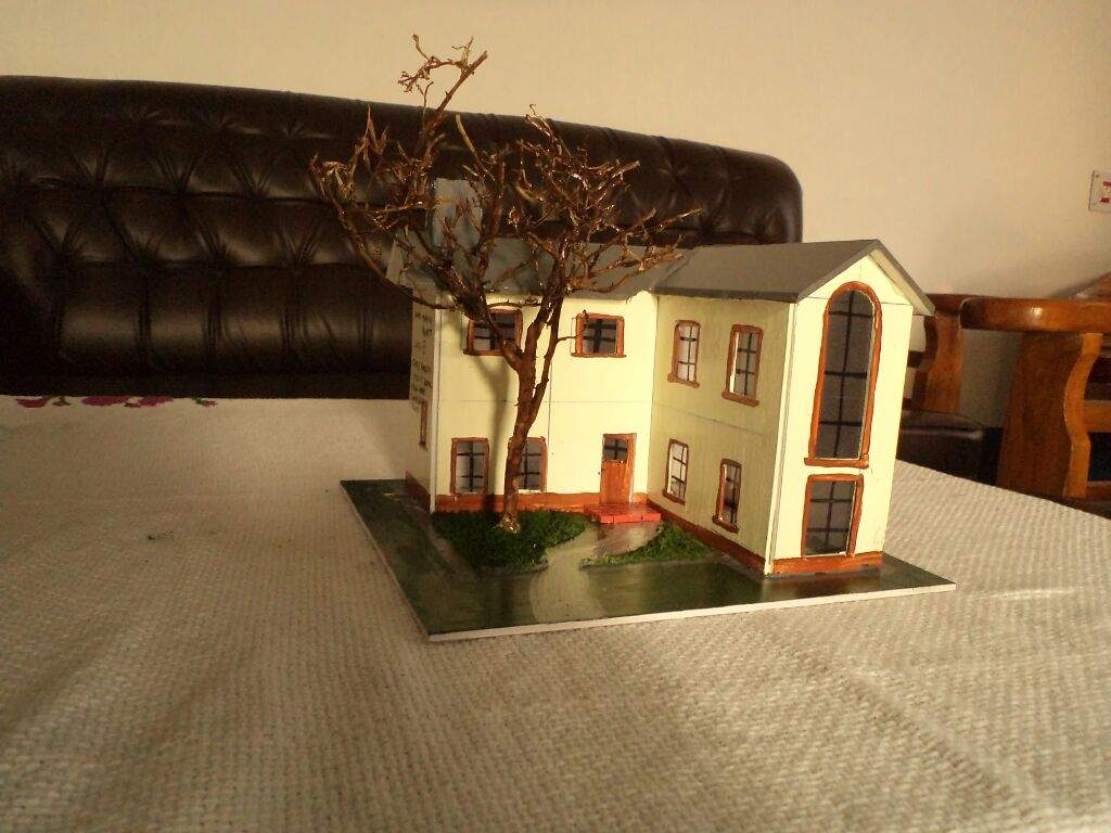 My Miniature House Model For A School Project Miniature