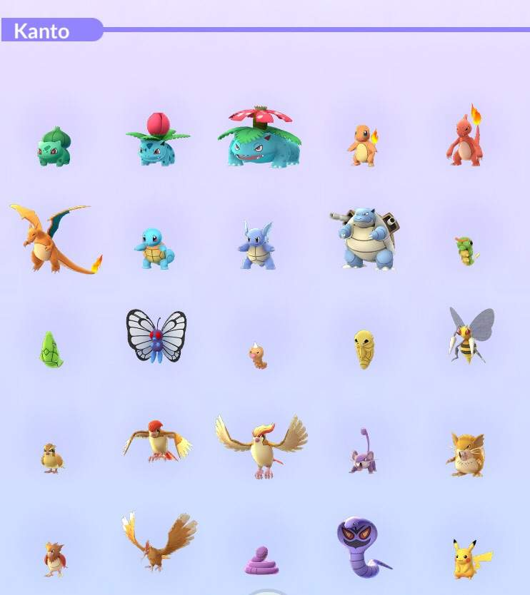 Esos Pokemon de la region de Kanto que tenéis olvidados | Pokémon ...