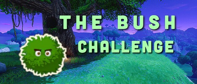 The Bush Challenge Fortnite Battle Royale Armory Amino
