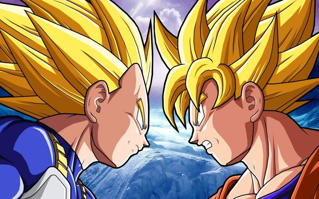 Goku The Main Character Of Franchise Dragon Ball And Vegeta One Who Follows Close Behind As His Rival Community Loves Both Them