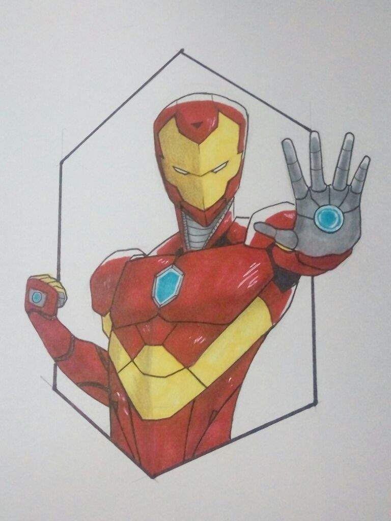 invincible iron man fanart stepstep | marvel amino