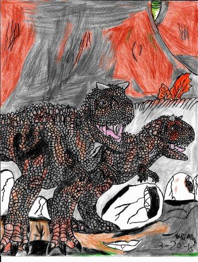 Indominus or T-Rex or Spinosaurus or Velociraptor ...