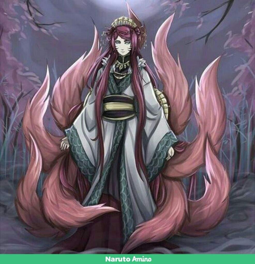 0 Tails Naruto mito uzumaki//nine tails | naruto amino