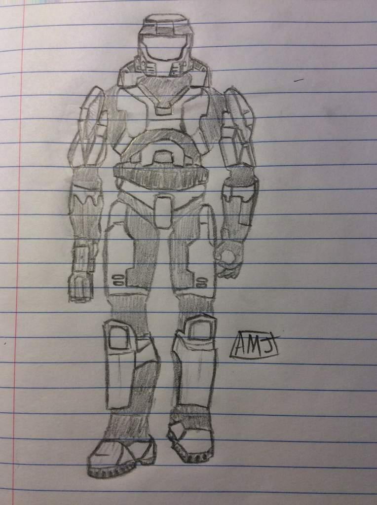 Master Chief Drawing