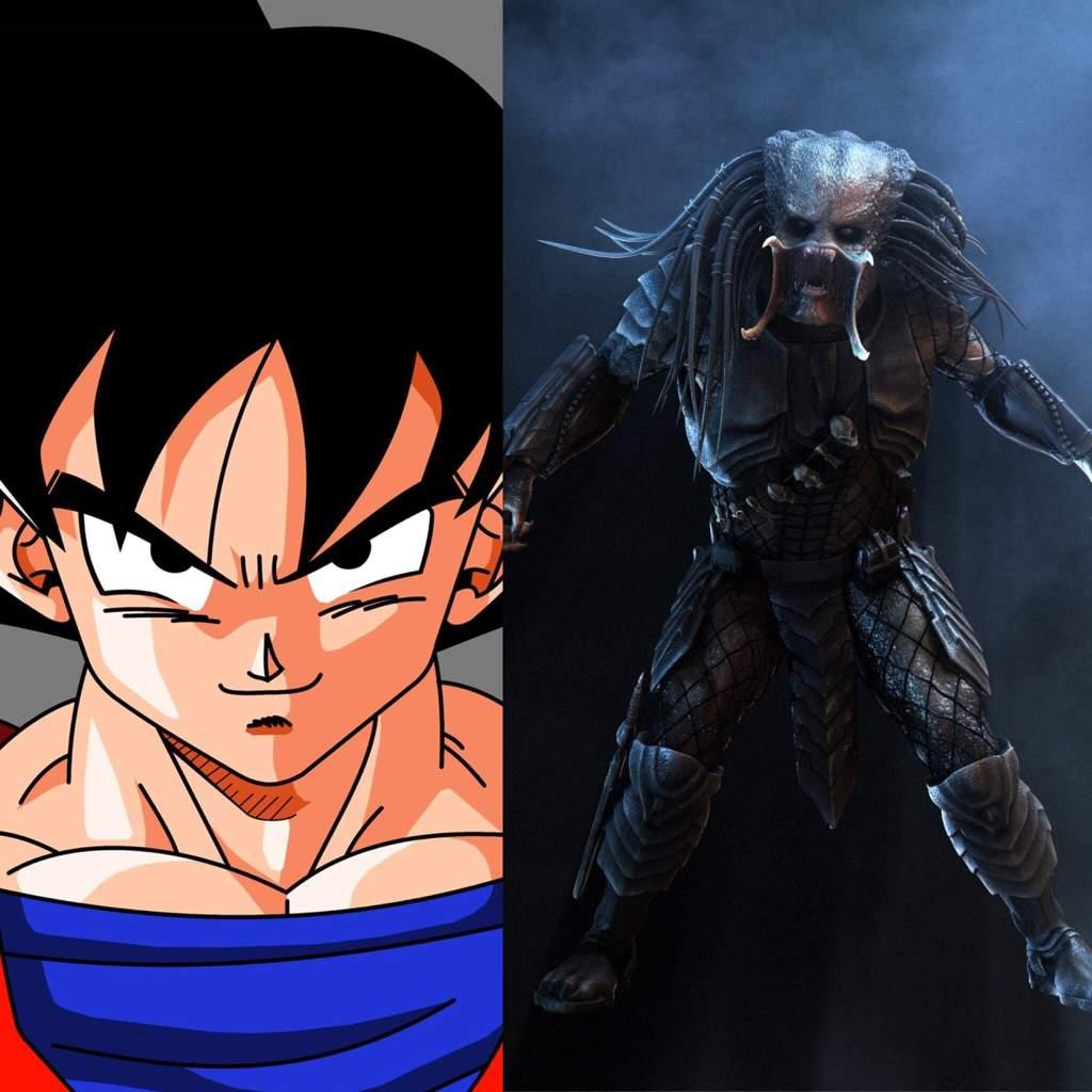 Goku Vs Predator Battle Arena Amino Amino