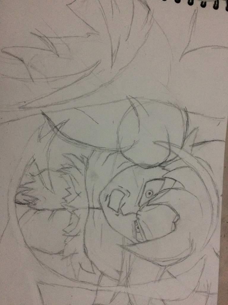 Imagenesparacolorearwebsite Dibujos Para Colorear De Goku Ultra