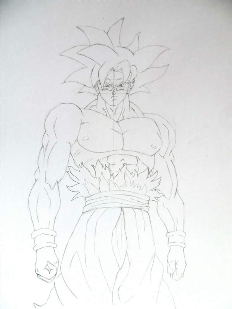 Imagenes De Goku Ultra Instinto Dominado Para Colorear