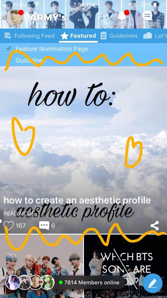 how to create an aesthetic profile | ARMY's Amino