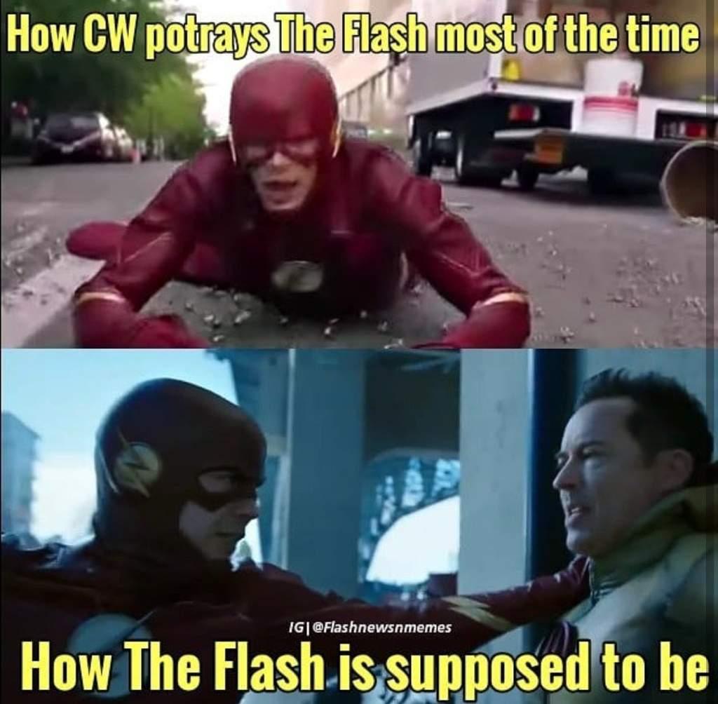 CW Is Making Him A Weakling