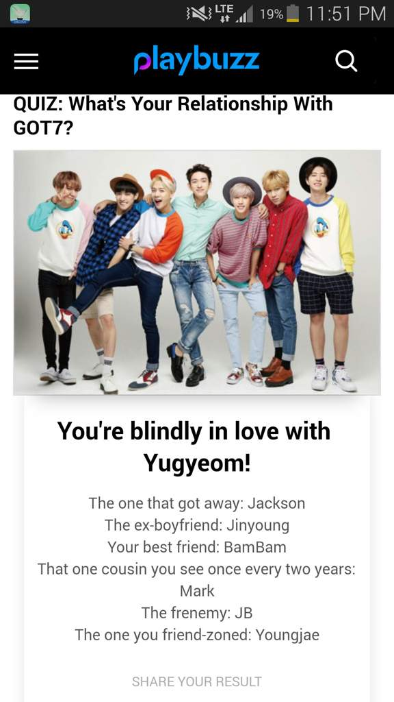 QUIZ: What's Your Relationship With GOT7?   GOT7 Amino