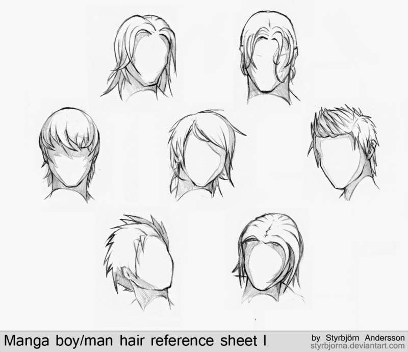 Anime Hair Reference Material Anime Amino