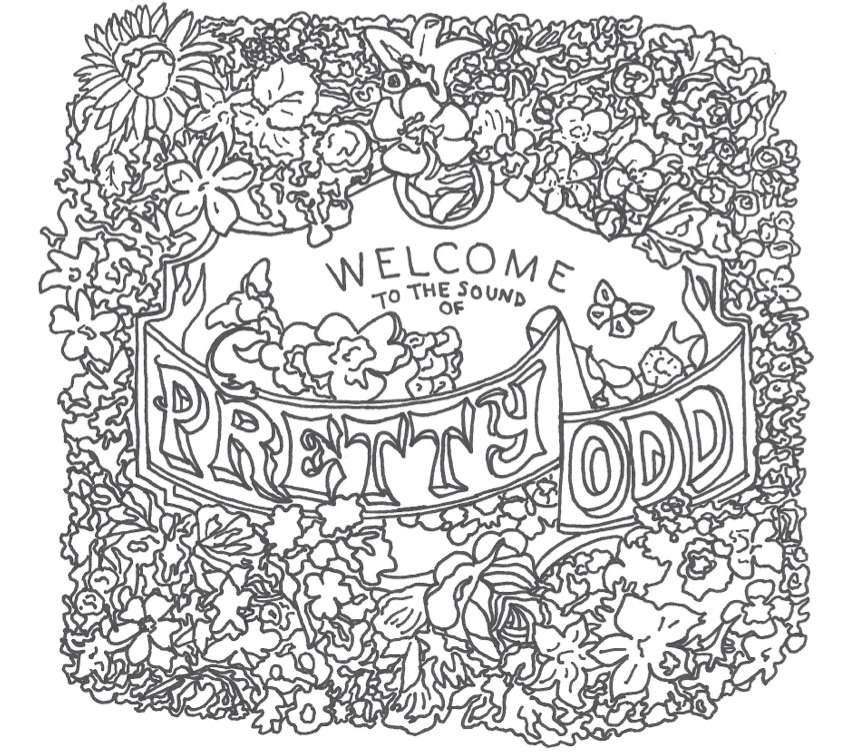 panic at the disco coloring pages Pretty Odd Coloring Page | Panic! At The Disco Amino panic at the disco coloring pages