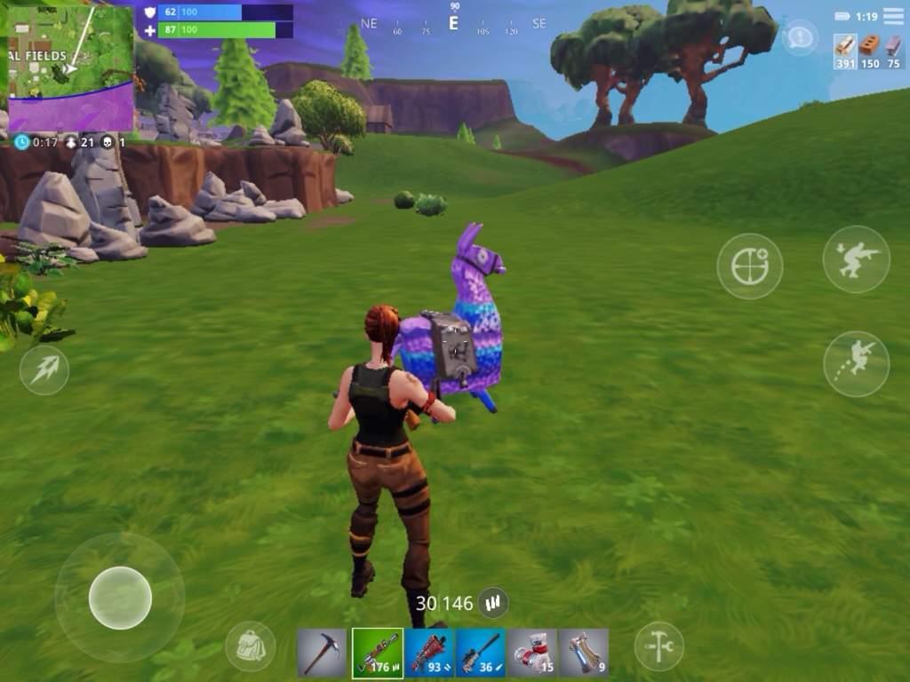 comment your loot llama findings below - fortnite loot llama background