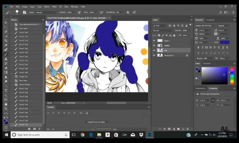 Manga Coloring On Photoshop Tutorial   Anime Amino