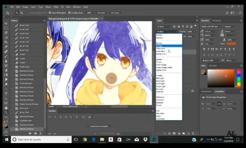 Manga Coloring On Photoshop Tutorial | Anime Amino