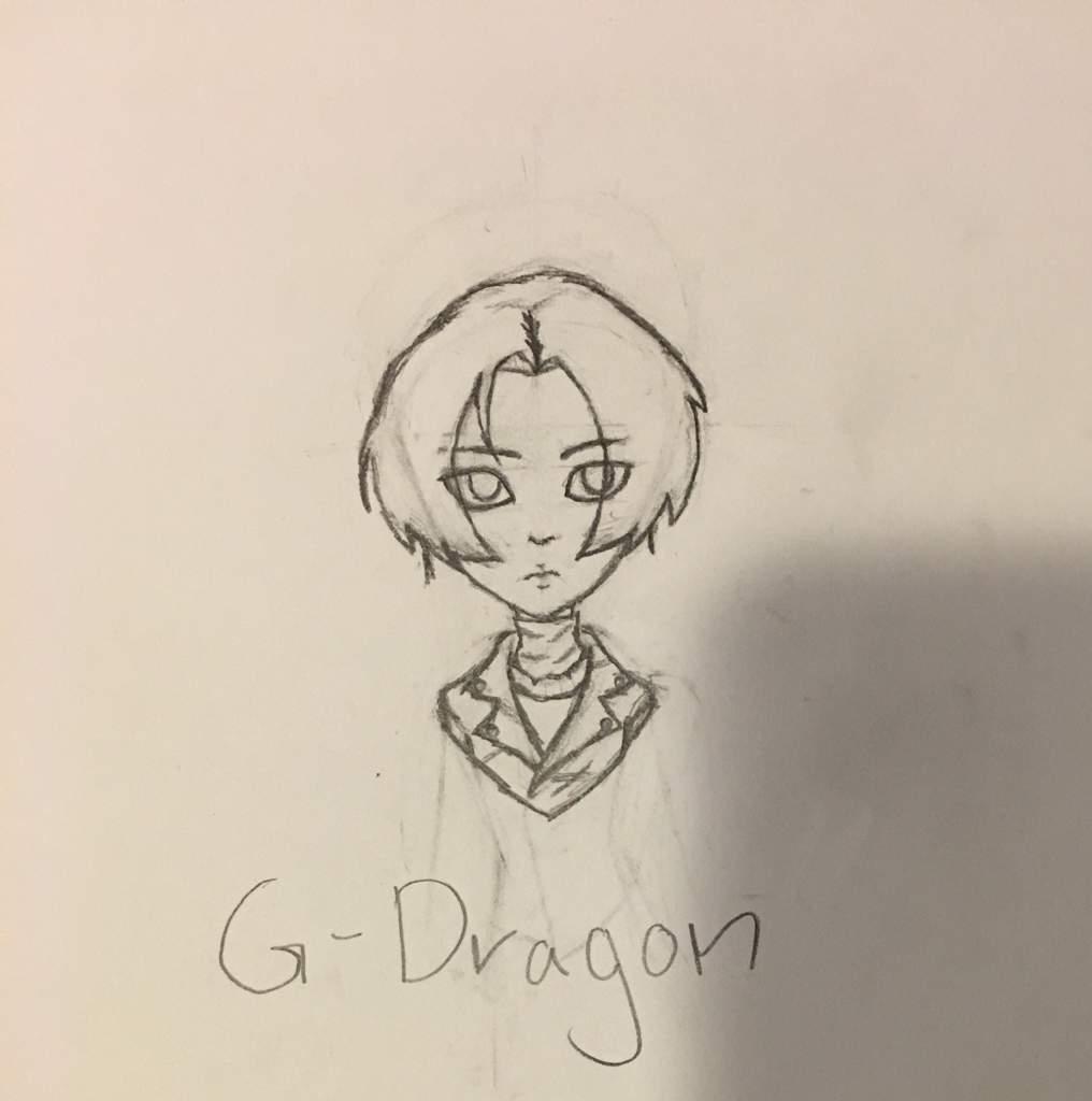 G Dragon Drawings I Did The Other Day Big Bang Amino Amino