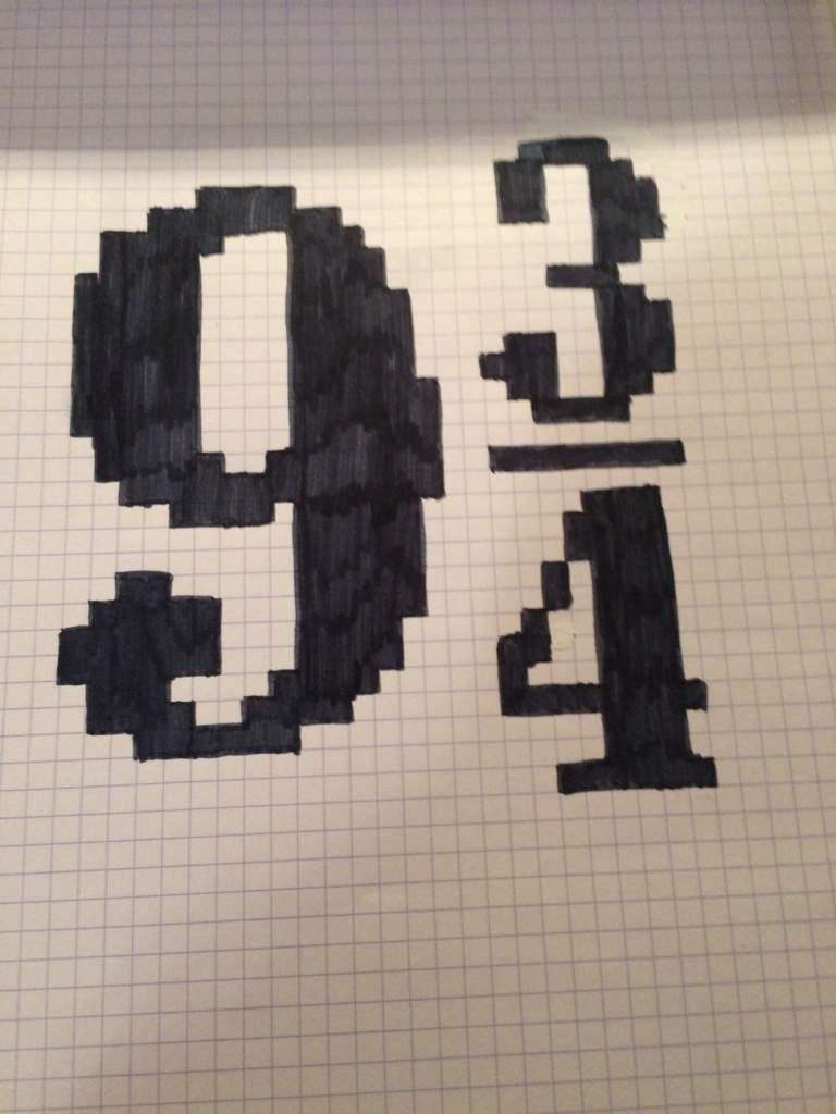 Mes Pixels Art Hp Harry Potter Fr Amino