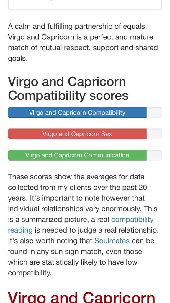 Capricorn and virgo match
