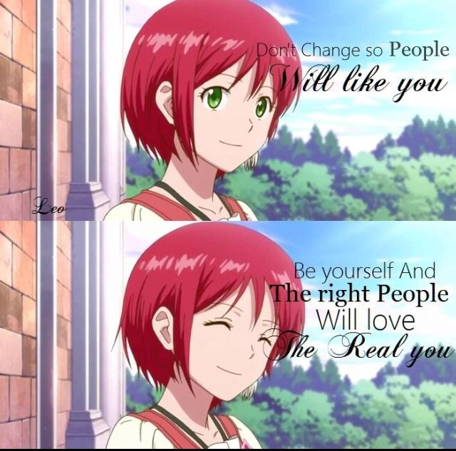 snow white with the red hair quotes anime amino