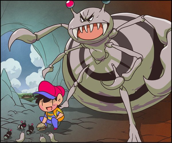 Another Reason The Characters From Earthbound Are Governed By Fate Because Many Inauspicious Events Lead Up To Him Finding Melodies