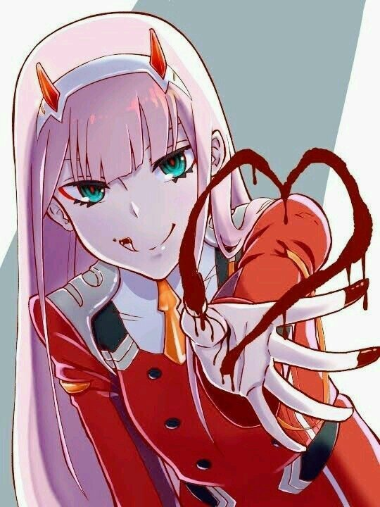 Zero Two 002 Wiki Darling In The Franxx Official Amino