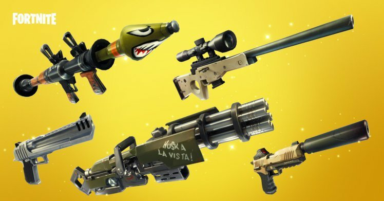 A Comprehensive Guide To Every Weapon In Fortnite Fortnite