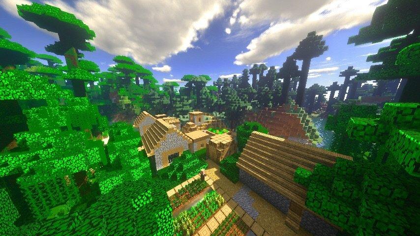 Java/PE/Bedrock Seed: 1094605455 | Minecraft Amino