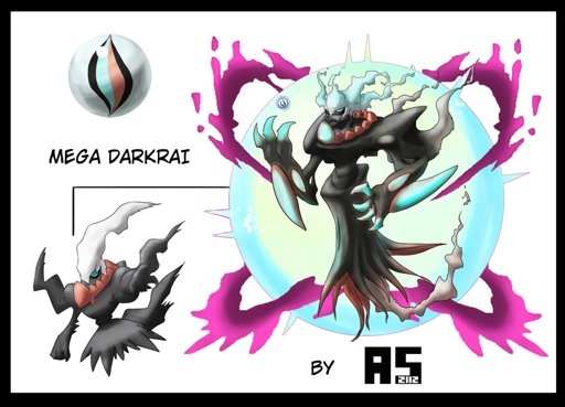 Mega Darkrai X