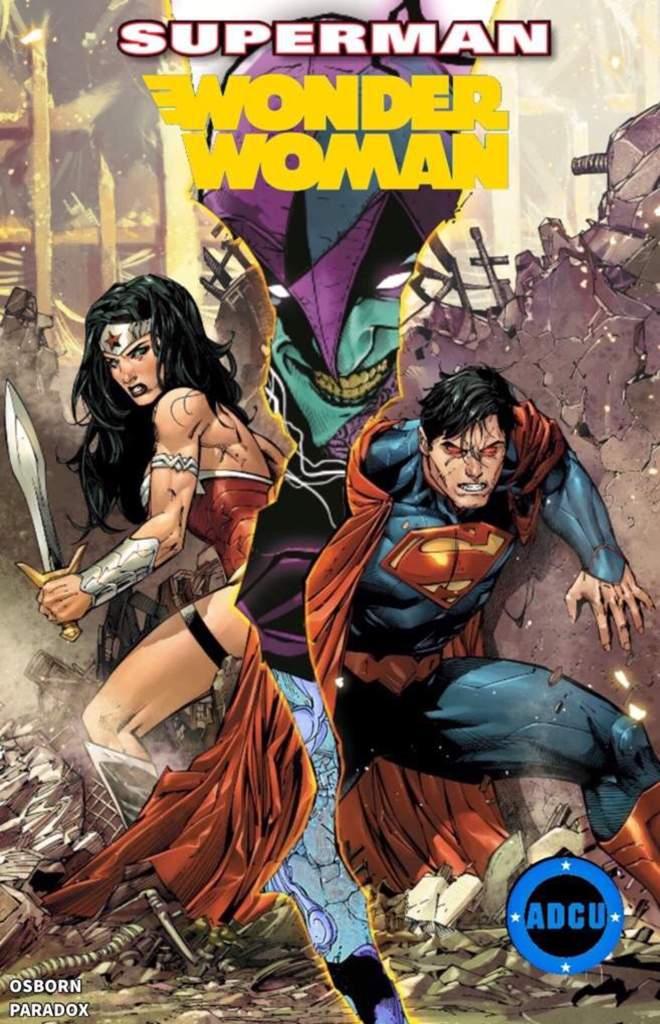 adcu superman wonder woman crossover comics amino