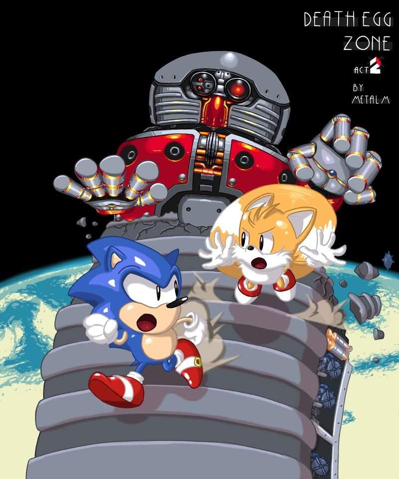 Death Egg Robot Vs Great Eggman Robo Sonic The Hedgehog Amino