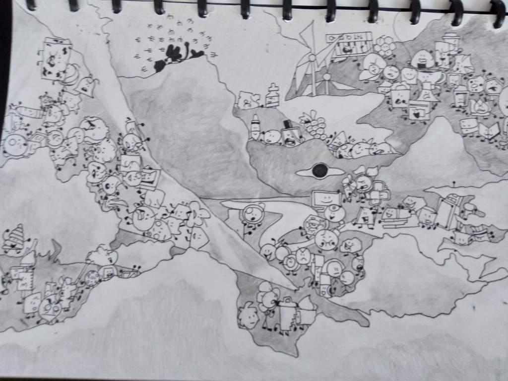 Drawing Bfb Intro Bfdi Amino
