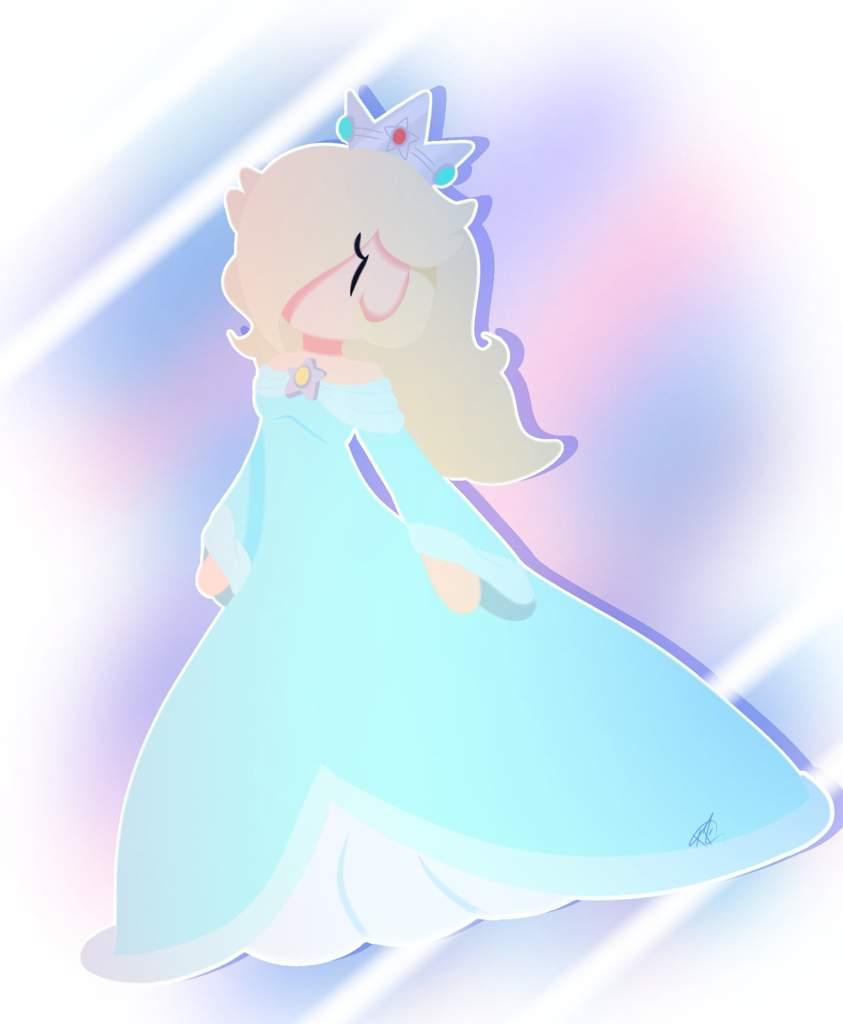 Chibi Rosalina Super Mario Galaxy Amino
