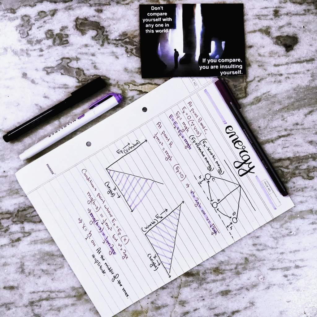 Physics Notes  Daily Study Blog   Studying Amino Amino